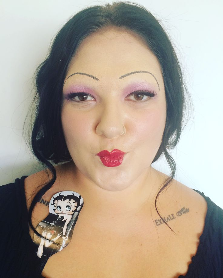 30s Make Up : Betty Boop inspired