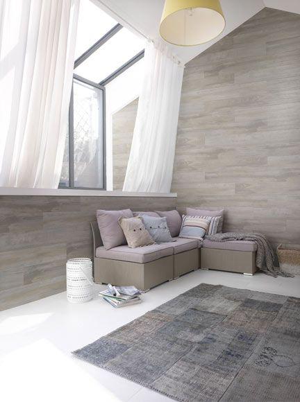 Revestimiento de pared GROSFILLEX PVC DATCHA GRIS Ref. 17577105 - Leroy Merlin