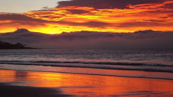 Sunrise, Fish Hoek Beach, Cape Town