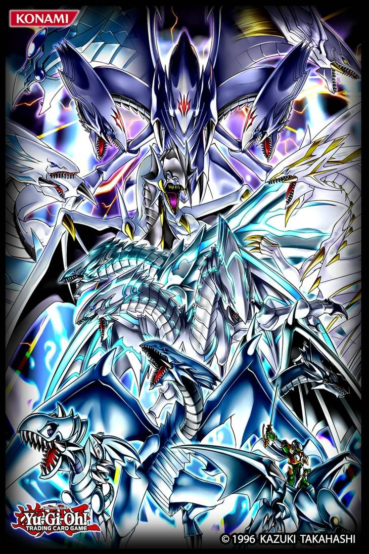 The Blue Eyed White Dragons Cardsleeve By Alanmac95 On