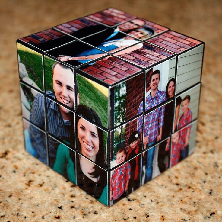 Советы от Подарков.ру | Кубик Рубика с семейными фотографиями
