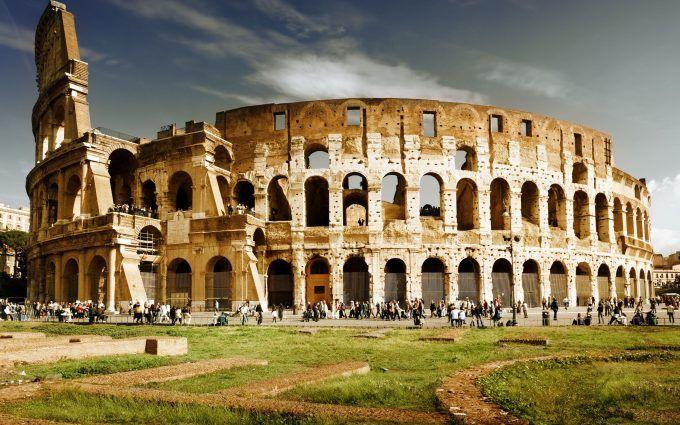 Colosseum Wallpaper 4K