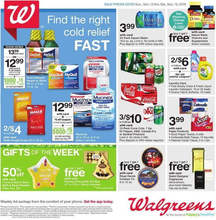 Pin on Walgreens Weekly Ad Circular, Coupons and Sales