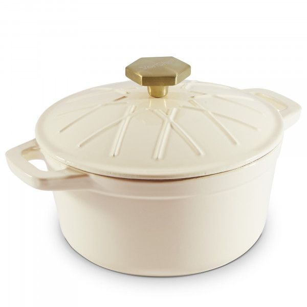 Cream 2 5l Cast Iron Casserole Dish Cast Iron Casserole Dish