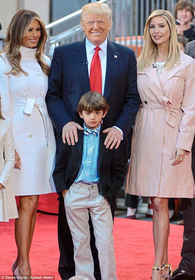 Which glamour girl - wife Melania, 46, or daughter Ivanka, 34 - does Donald Trump, 70, hop...