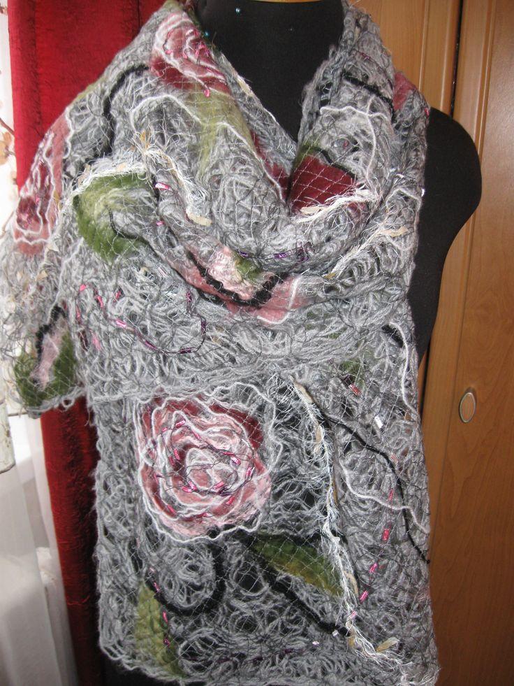 Техника крейзи вул, купить crazy wool в Украине | kerikFelt