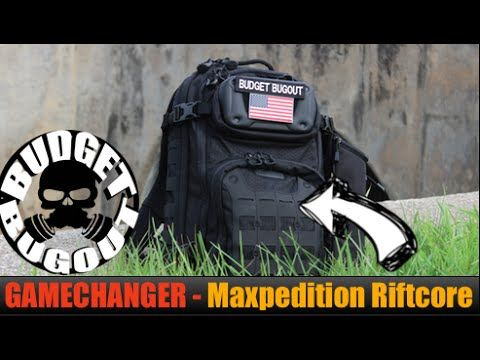 GAMECHANGER Everyday Carry [EDC] Backpack -- Maxpedition Riftcore EDC Ba...