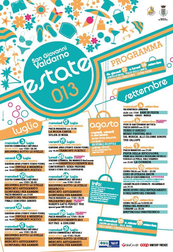 Programma Estate 2013_Comune SGV