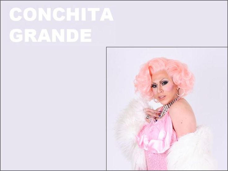 Conchita Grande is one of Sydney's most sought after gender-bending miming #drag queens. They don't get any fishier than her! She's a multi-talented performer, hostess, drag queen & showgirl. #GayWedding