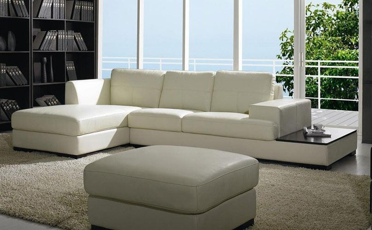 Contemporary Low Profile Leather Sectional Modern Sofa Sectional Contemporary Leather