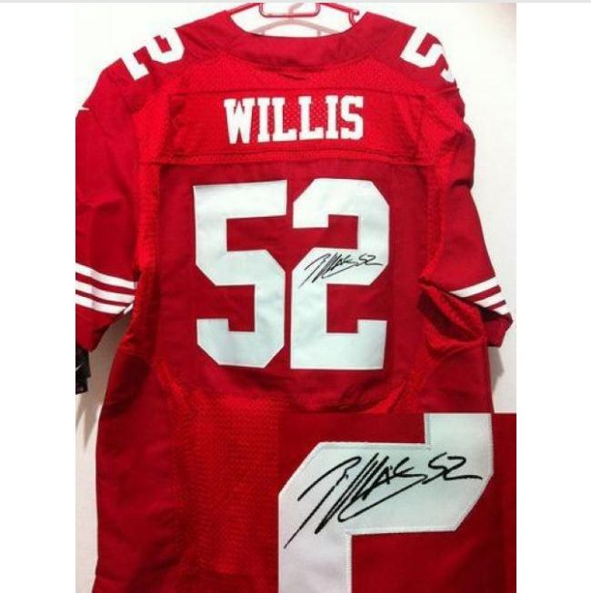 459a0bf4a ... coupon code for nike san francisco 49ers 52 patrick willis limited  black impact 2013 super bowl