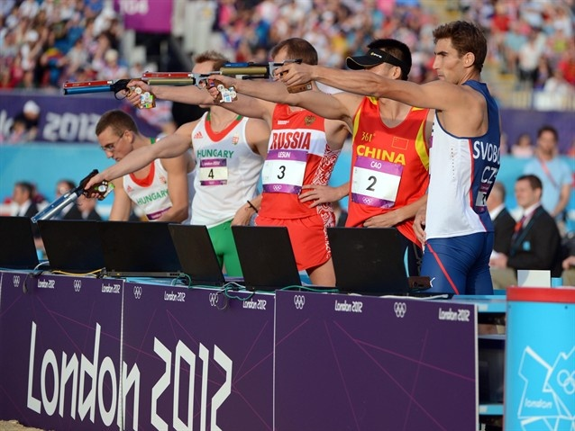 Modern Pentathlon: Men's and Women's Competitions - Modern Pentathlon Slideshows | NBC Olympics
