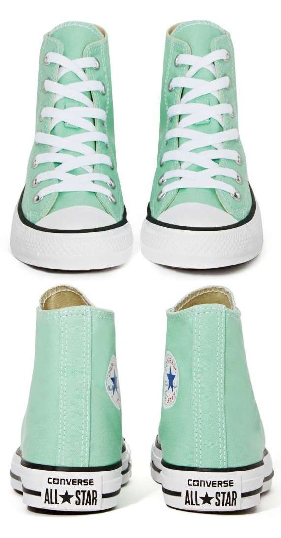 Sweet Mint Converse Sneakers