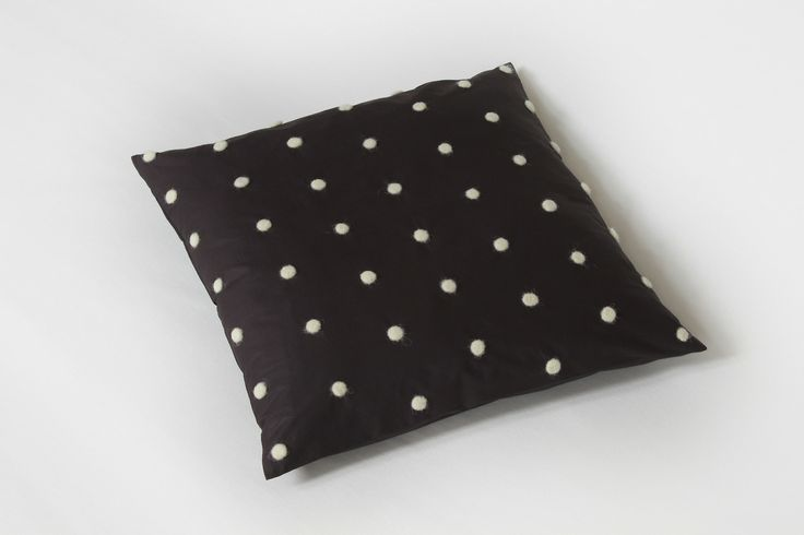 The rhythm pillow from Romanian studio Form Function. Made with love and wool.