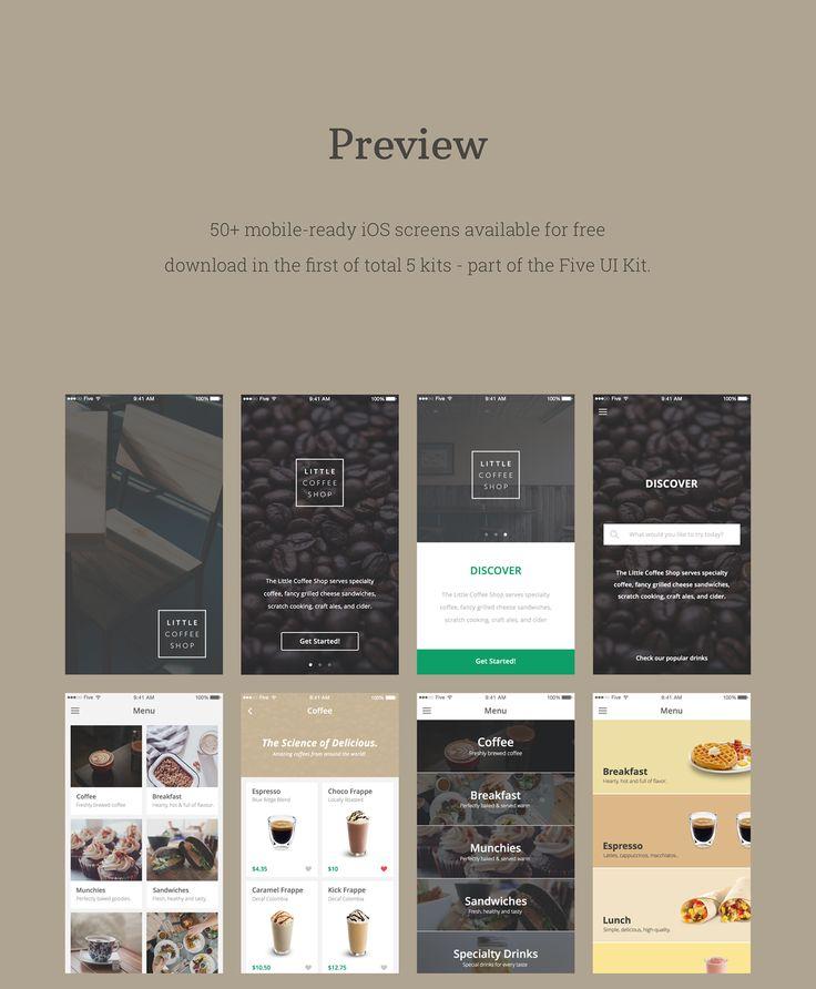 E-commerce UI Kit (Freebie) on Behance