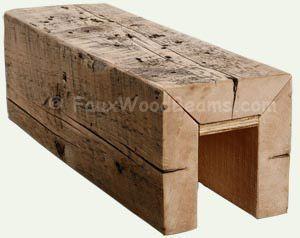 fake wood beams - Google Search