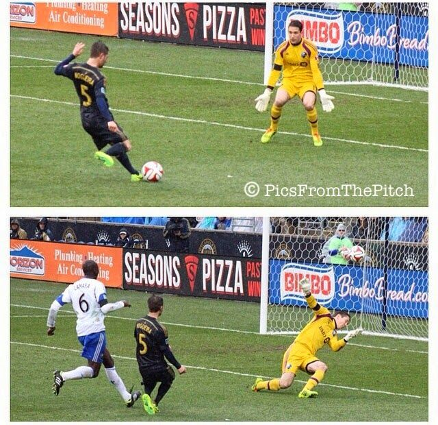 Philadelphia Union vs. Montreal Impact 3/29/14 #mls #doop @Philadelphia Union Store