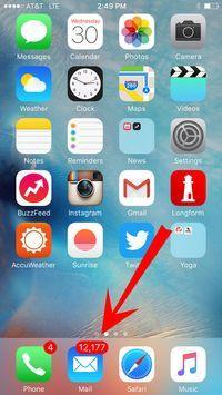 Olá, meu nome é Jess e eu tenho um problema. | Este truque genial com o iPhone irá ajudá-lo a limpar sua caixa de entrada inteira