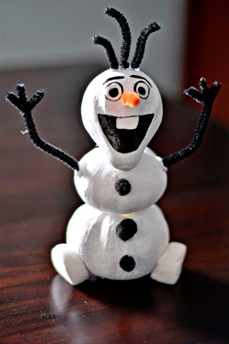 The 25+ best Olaf pumpkin ideas on Pinterest | Frozen pumpkin ...