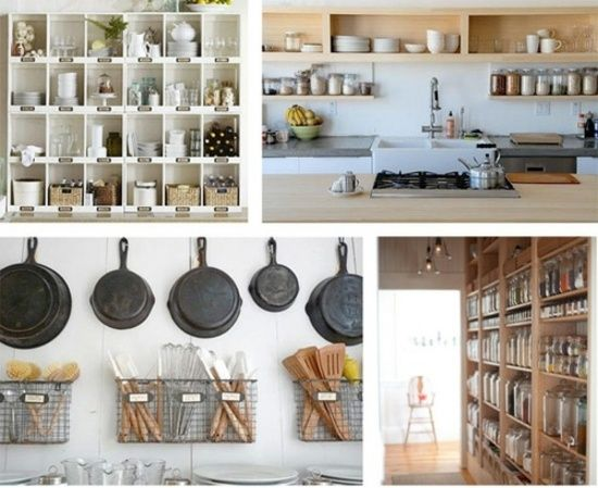 Die besten 25+ Ordnungssystem offene küche Ideen auf Pinterest - offene küchen ideen