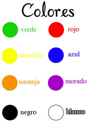 Printables Spanish Worksheets For Kindergarten 1000 ideas about spanish colors on pinterest in color names worksheet