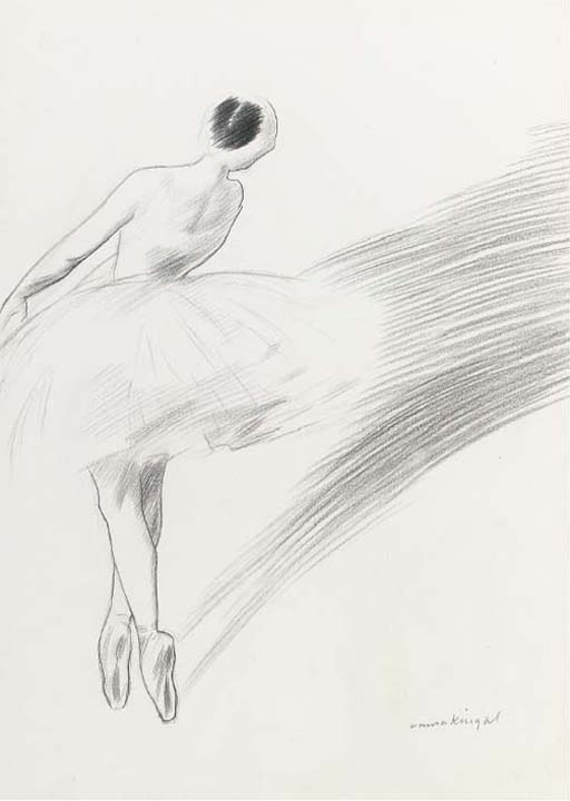Ballet dancer, Dame Laura Knight. English (1877 - 1970)