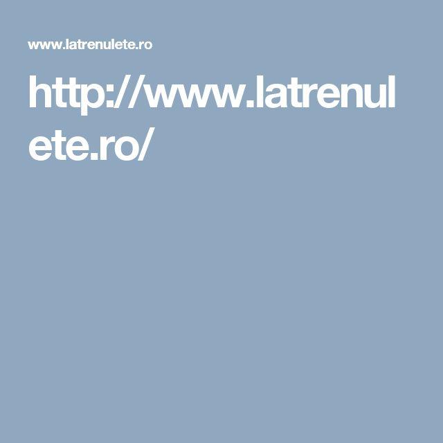 http://www.latrenulete.ro/