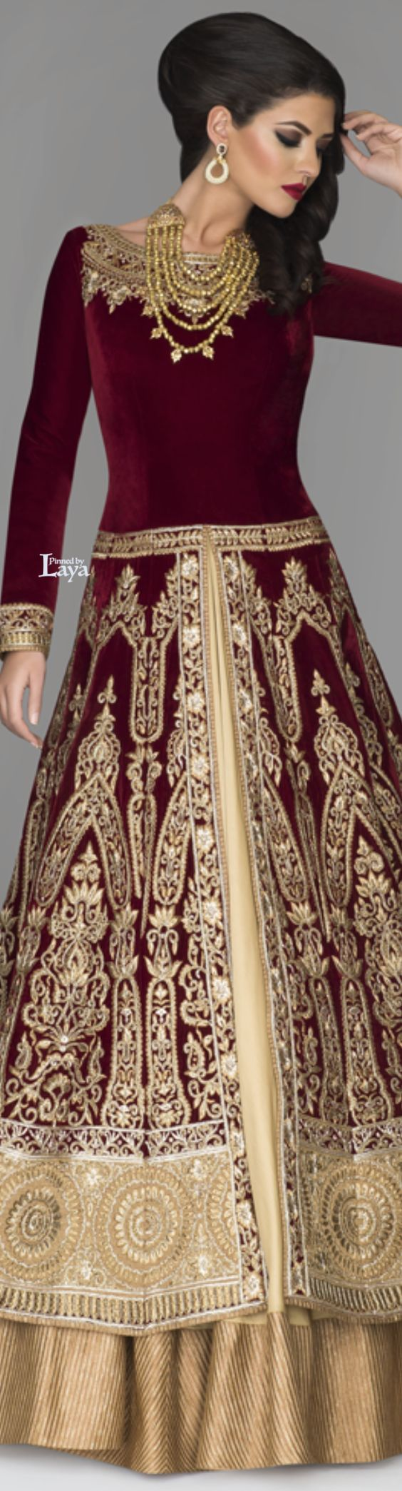 Latest Party Wear & Fancy Wedding Frock Designs Collection 2016-2017 (24)
