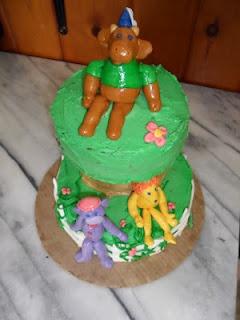 Elliot Moose Kid Birthday Cake