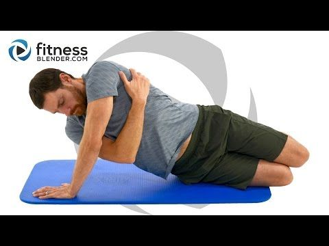 Intense No Equipment Upper Body Workout - At Home Upper Body Strength Without Weights - YouTube