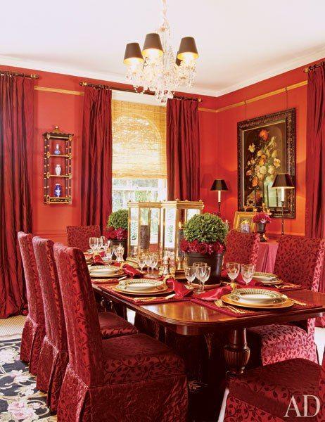 18 Red Rooms for Design Inspiration133 best COLOR RED ROOMS   DECOR images on Pinterest   Red rooms  . Red Room Decor. Home Design Ideas