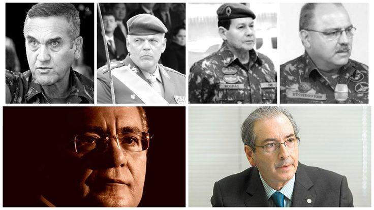 Militares querem Renan Calheiros e Eduardo Cunha fora do cenário político http://cristalvox.com/militares-querem-renan-calheiros-e-eduardo-cunha-fora-do-cenario-politico/