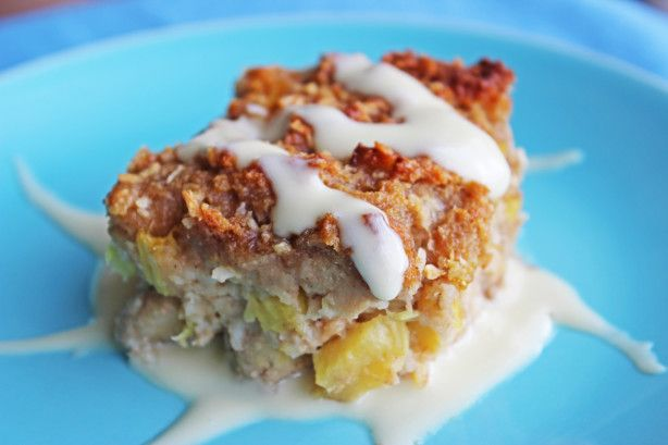 Hummingbird Bread Pudding ~ I got this recipe from The Early Show on CBS recently, looks good.