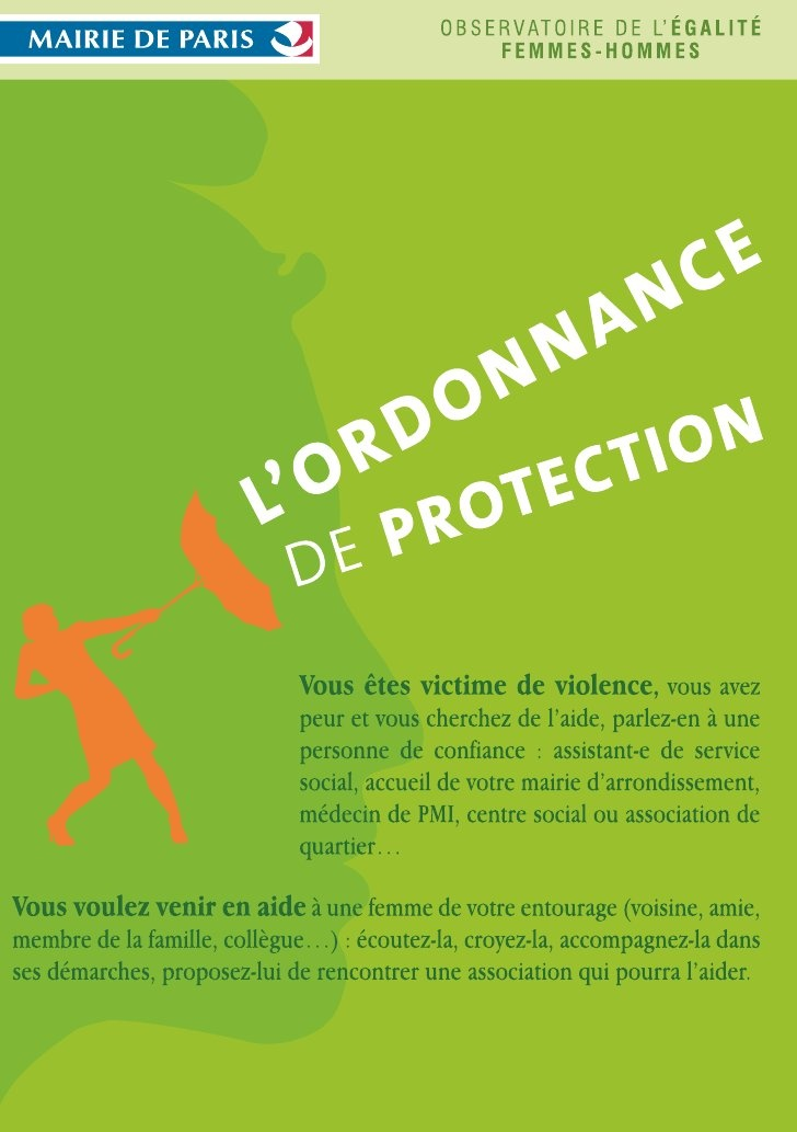 Ordonnance de protection en cas de violences conjugales faites aux femmes à Paris, France by Avocat Paris Reiter, via Slideshare