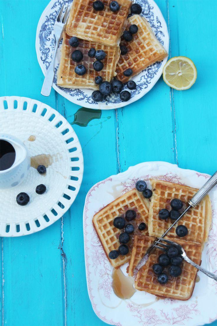 Honig Waffeln {das perfekte Frühstücksglück} – Frau Zuckerstein.