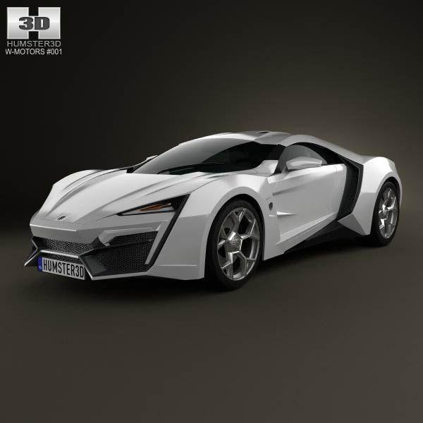 2012 W-Motors Lykan HyperSport