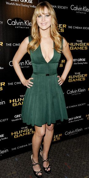 03/21/12: #Jennifer Lawrence flaunted the hard work she put into training for the role of #Katniss in a body-conscious design. http://www.instyle.com/instyle/celebrities/lotdpopup/0,,20580279_21136115,00.html