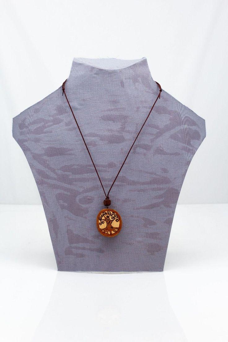 "Pendant made of wood ""Life Tree"". Handmade. Hobbies and Crafts. | eBay"
