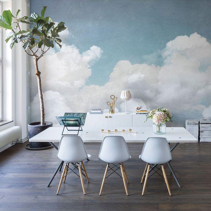 """Wandbild """"Wolken"""""""