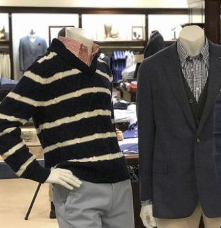6beb0e62db Grand Prize is a $420.00 Brooks Brothers Seersucker Stretch Bomber Jacket,  and Brooks Brothers Garment-Dyed 10