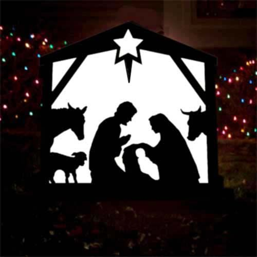 Pin Outdoor Christmas Nativity Scene Merry Desktop Picture Album ...