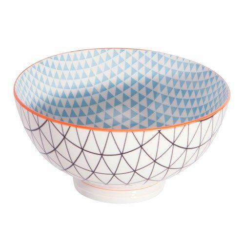 Ambrosia Koko Rex Large Bowl 15cm Black/Orange | Plates & Bowls - House