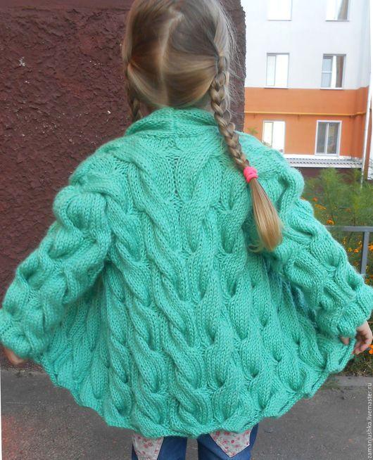 Одежда для девочек, ручной работы. Детский кардиган