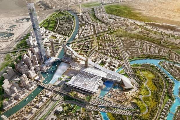 Meydan One : la dernière extravagance, Ce vaste complexe touristique et résidentiel devrait abriter la plus grande station de ski couverte au monde, ainsi qu'une fontaine dont les jets s'élèveront à 420 mètres de haut. Le projet comprend aussi un édifice de 711 mètres de haut, qui battra le record du monde de la plus grande tour résidentielle. Coût estimé de l'ensemble de ce projet, dont l'ouverture est prévue pour 2020: 6,2 milliards d'euros…