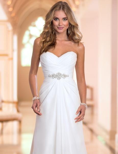 Boho wedding dress – empire