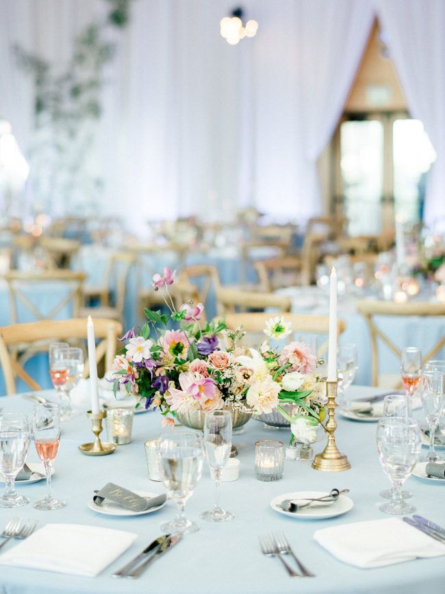 The Prettiest Pastel Wedding Inspiration At Diamond Bar Center Wedding Table Layouts Pastel Wedding Romantic Garden Wedding