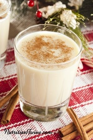 Skinny Egg Nog | Only 115 Calories | Rich & Delicious for a Fraction of the Calories | Enjoy the Holidays and Save your Waistline | For Nutrition & Fitness Tips & RECIPES please SIGN UP for our FREE NEWSLETTER www.NutritionTwins.com @egglandsbest .client