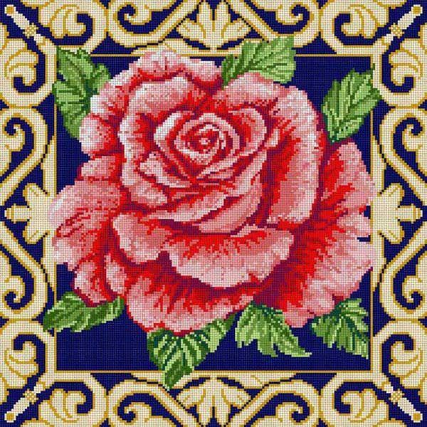 Rose Gold Scroll Brdr