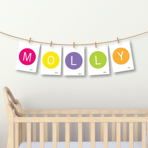 Name card packs (with string & pegs) - 2 designs