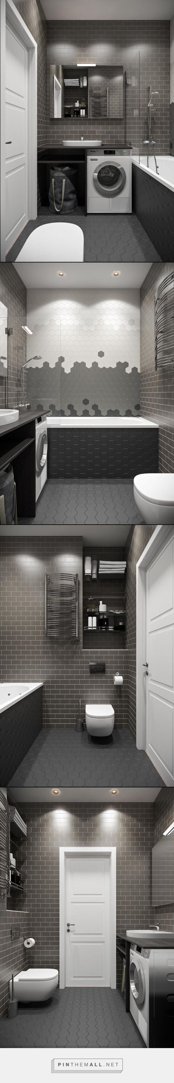 санузел лофт, интерьер ванной комнаты, ванная комната дизайн, ванная темная